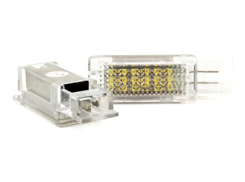Комплект LED плафони за Mercedes W176, W246, W203, C117, X156, W209, R171, R199, W639, W240, ляв и десен 3
