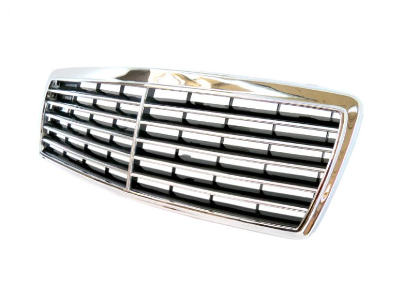 Хром/черна решетка за Mercedes C класа W202 1993-2000 5
