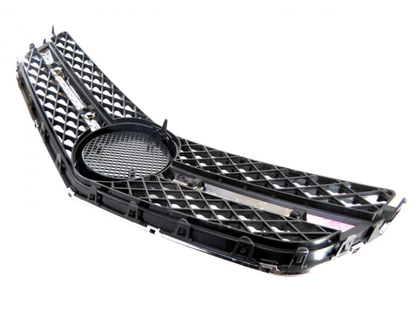 Хром/черна решетка тип AMG за Mercedes E класа купе C207 2009 => 5