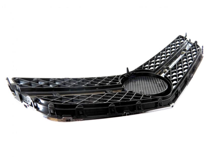 Хром/черна решетка тип AMG за Mercedes E класа купе C207 2009 => 6