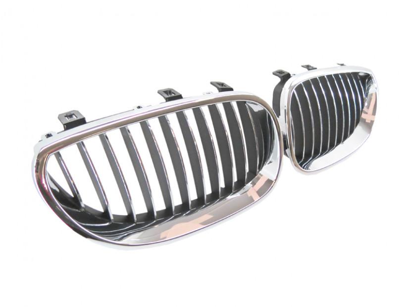 Бъбреци хром/черни за BMW серия 5 E60 седан/E61 комби 2003-2010 3