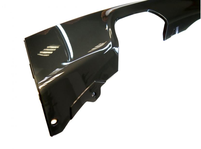 Дифузьор тип M за задна M technik броня за BMW серия 3 F30, F31 след 2011 година, с единичен отвор и двоен накрайник -oo---- 4