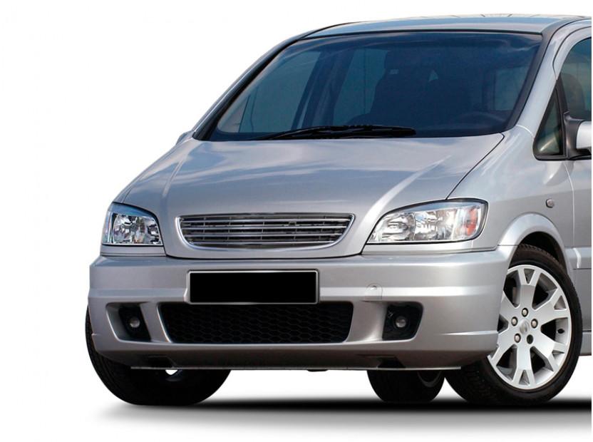 Хром/черна решетка без емблема за Opel Zafira 1999-2005 9