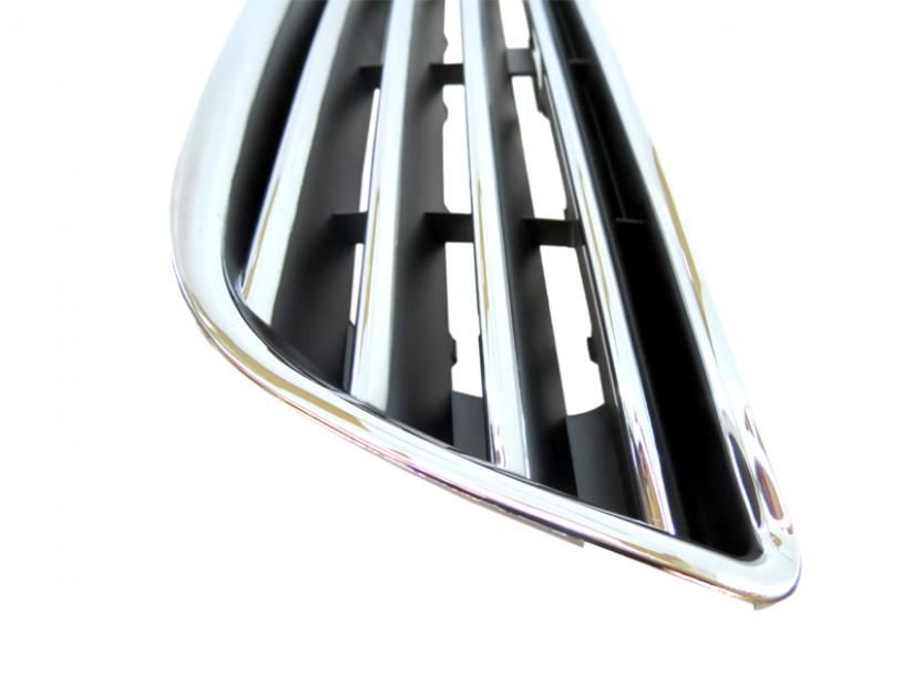 Хром/черна решетка без емблема за Opel Zafira 1999-2005 5