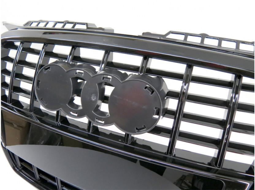 Черна лак решетка тип S3 за Audi A3 хечбек, Sportback 2005-2008 6