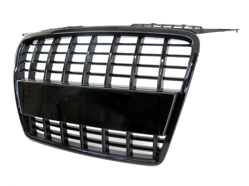 Черна лак решетка тип S3 за Audi A3 хечбек, Sportback 2005-2008 2