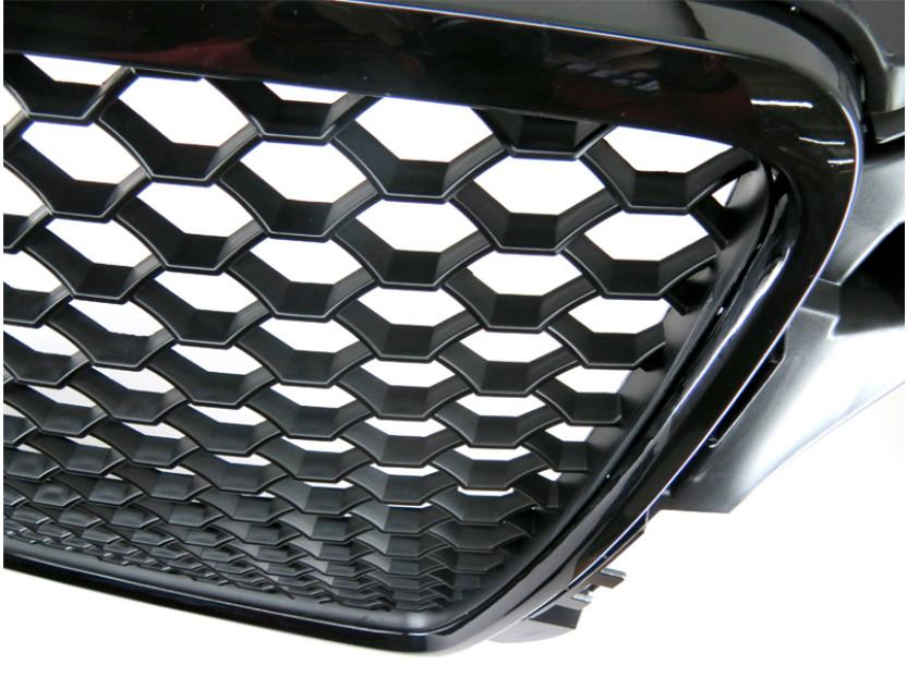 Черен лак решетка тип RS за Audi A3 хечбек, Sportback, кабрио 2009-2012 без отвори за парктроник 4