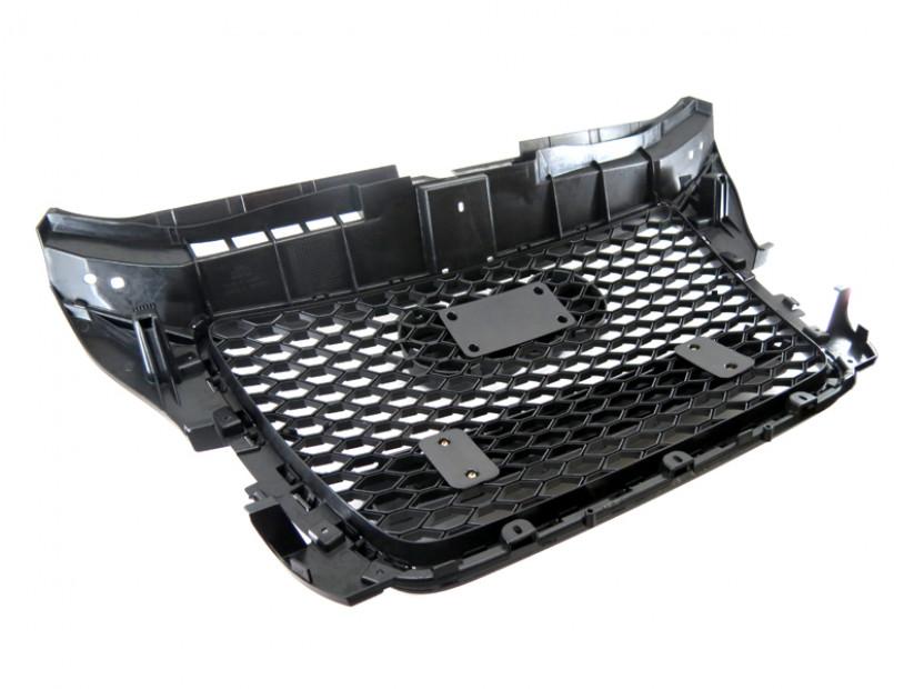 Черна решетка тип RS за Audi A3 2009-2011 без отвори за парктроник 2