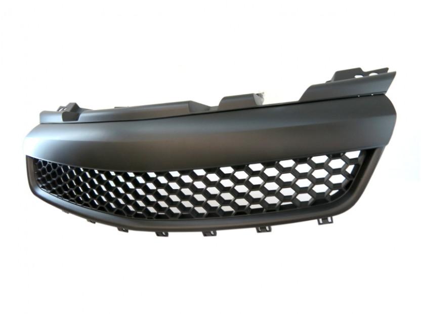 Черна решетка без емблема тип пчелна пита за Opel Zafira 2005-2011 5