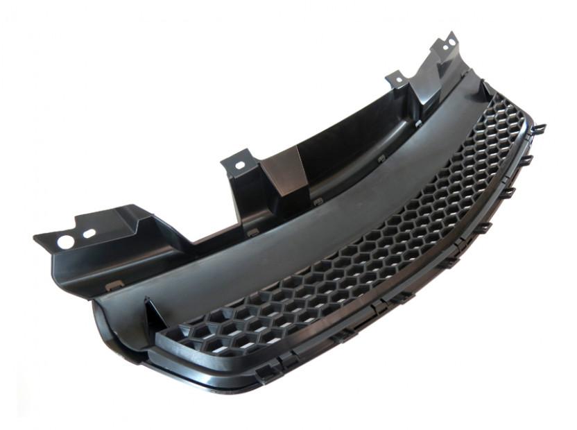 Черна решетка без емблема тип пчелна пита за Opel Zafira 2005-2011 2
