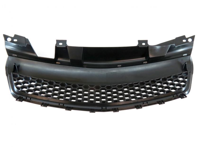 Черна решетка без емблема тип пчелна пита за Opel Zafira 2005-2011 3