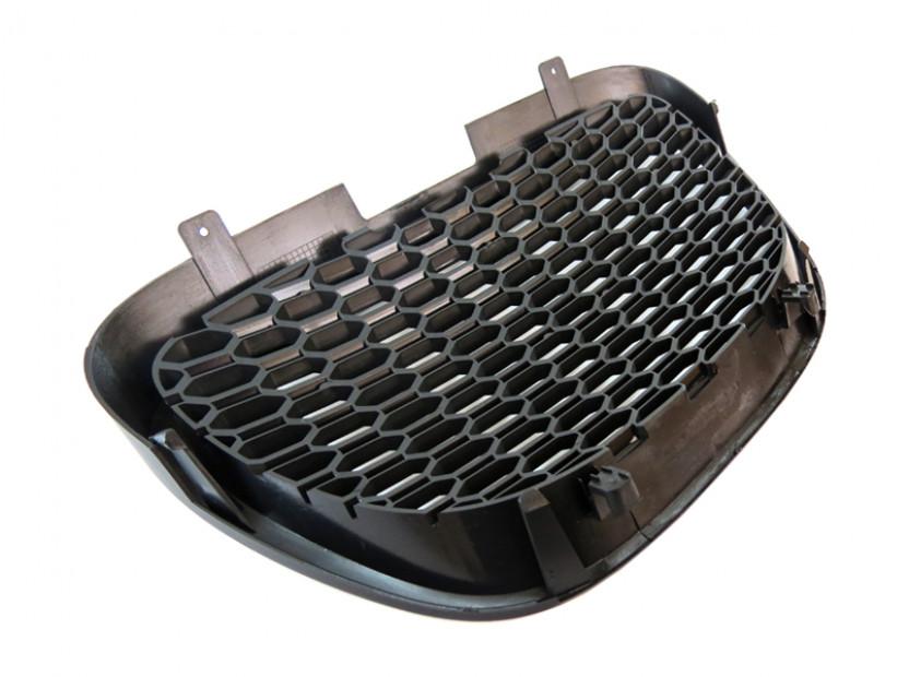 Черна решетка без емблема тип пчелна пита за Seat Leon 2006-2009 8