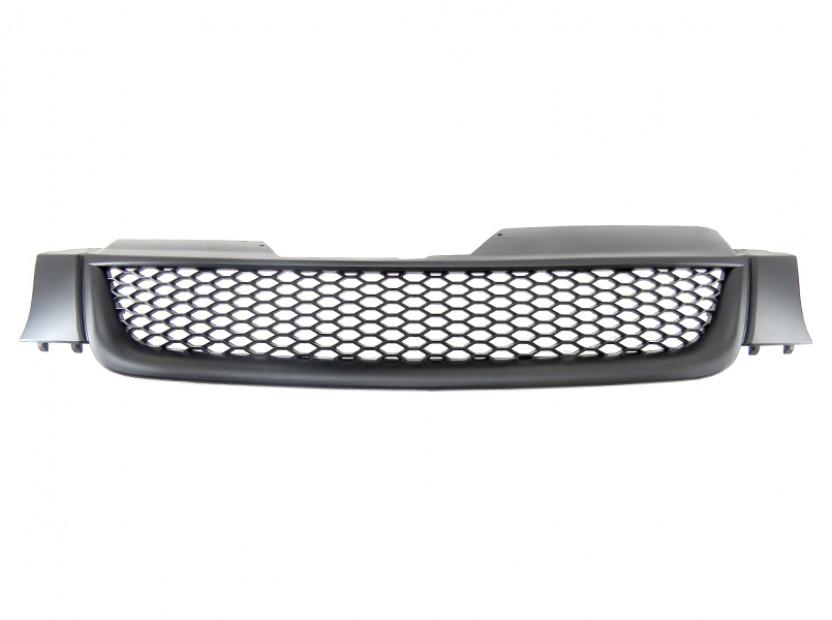 Черна решетка без емблема тип пчелна пита за VW Golf V 2003-2008
