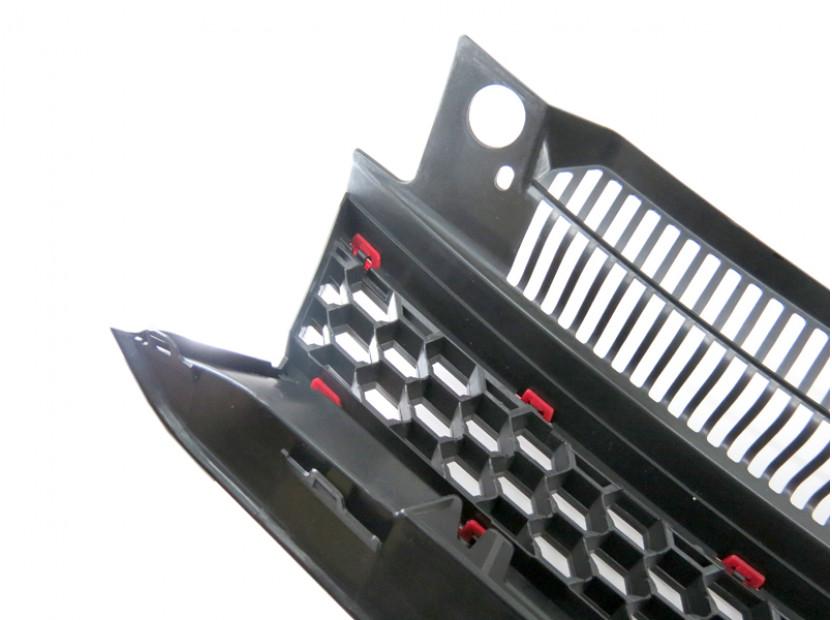 Черна решетка без емблема тип GTI за VW Golf VI 2008-2012 5