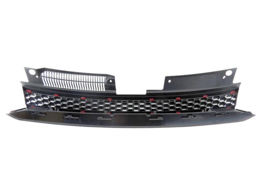 Черна решетка без емблема тип GTI за VW Golf VI 2008-2012 2