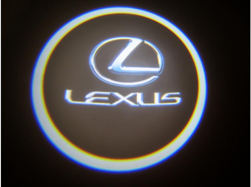 Лого проектoр за Lexus 10