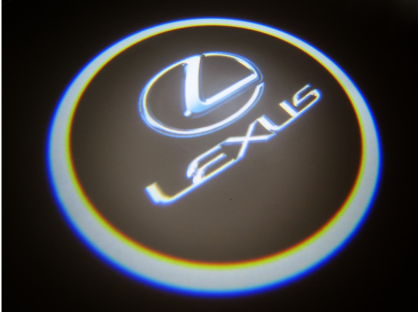 Лого проектoр за Lexus 11