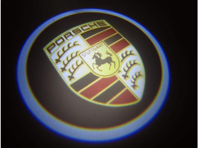 Лого проектoр за Porsche 14