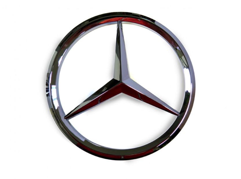 Емблема за предна решетка за Mercedes 158 мм