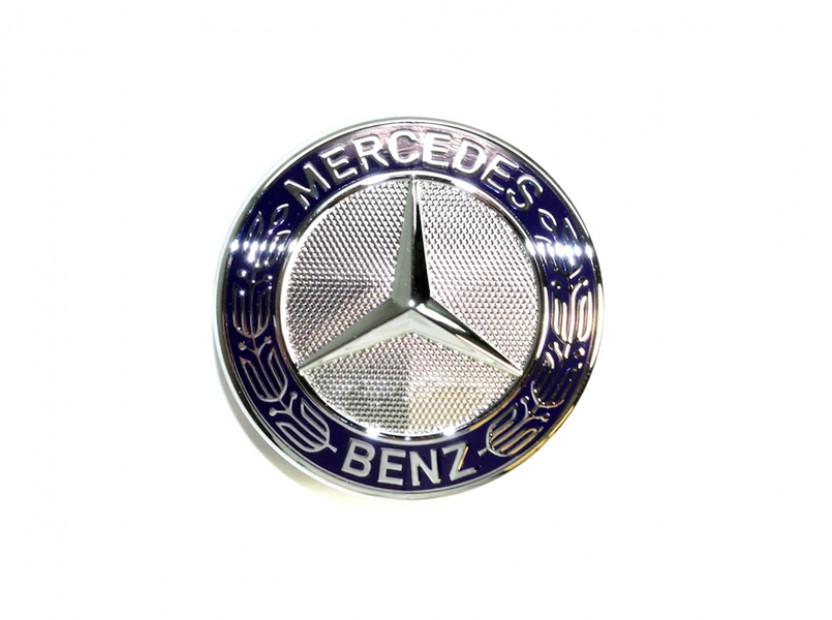 Емблема Mercedes-Benz малка за предна решетка за Mercedes S клас /ОРИГИНАЛНА/