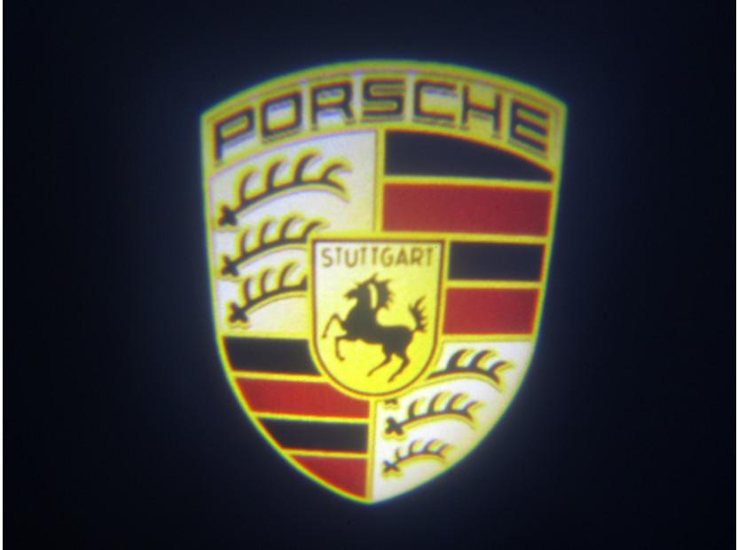 Лого проектoр  за директно вграждане за Porsche Cayenne 2002-2006 7