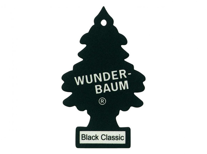 Ароматизатор Wunder-Baum, серия  Борче, аромат Black Classic 3