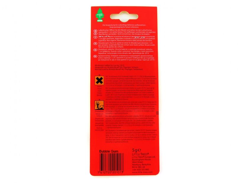 Ароматизатор Wunder-Baum, серия  Борче, аромат Buble Gum 4