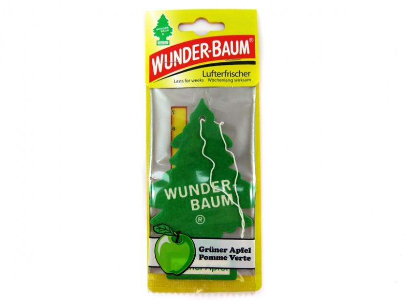 Ароматизатор Wunder-Baum, серия  Борче, аромат зелена ябълка