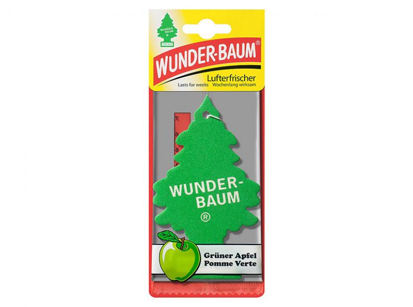 Ароматизатор Wunder-Baum, серия  Борче, аромат зелена ябълка 2