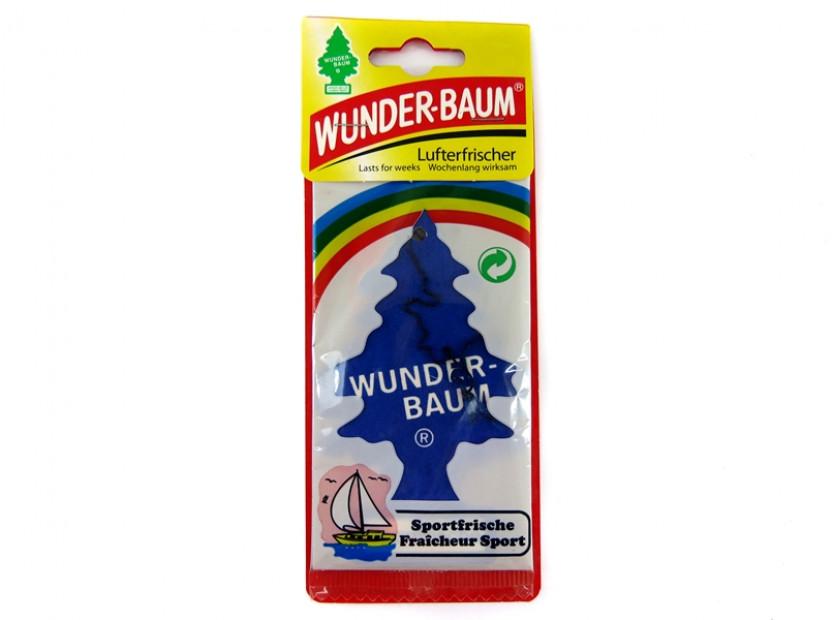 Ароматизатор Wunder-Baum, серия  Борче, аромат Sportfrische