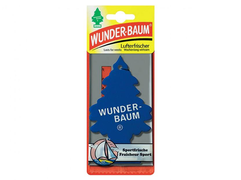 Ароматизатор Wunder-Baum, серия  Борче, аромат Sportfrische 2