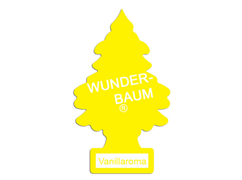 Ароматизатор Wunder-Baum, серия  Борче, аромат Vanillaroma 3