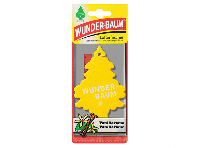 Ароматизатор Wunder-Baum, серия  Борче, аромат Vanillaroma 2
