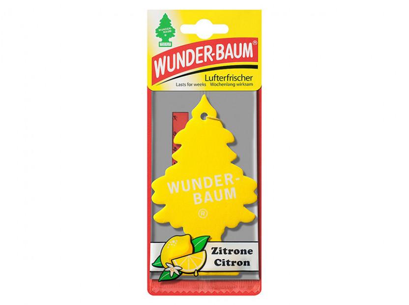 Ароматизатор Wunder-Baum борче Zitrone 2