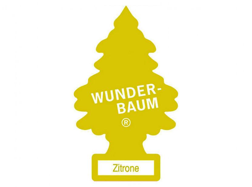 Ароматизатор Wunder-Baum борче Zitrone 3