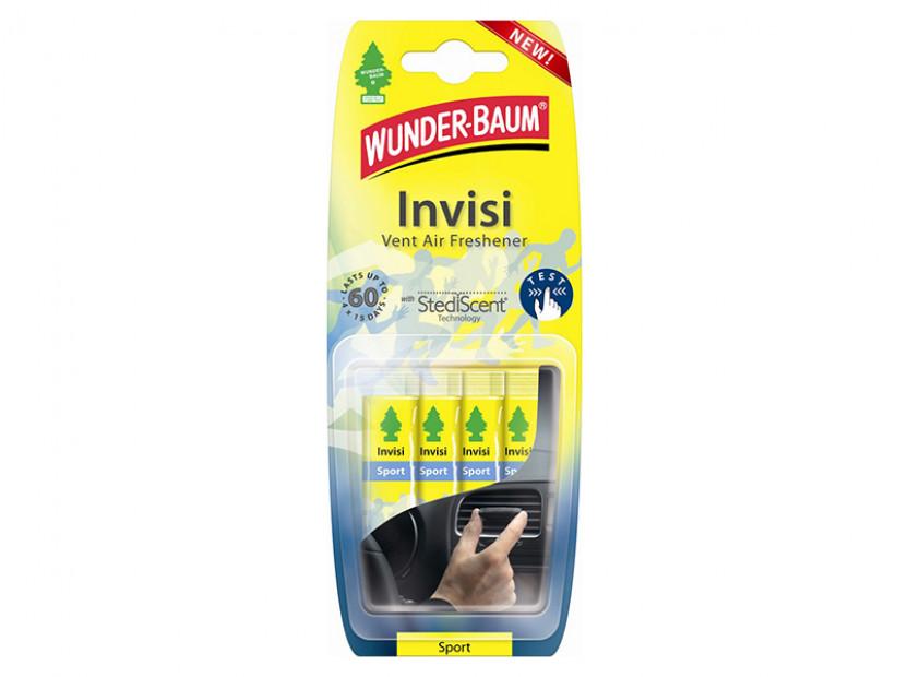 Ароматизатор Wunder-Baum, серия Invisi, аромат Sport