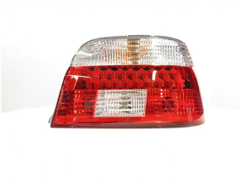 Комплект тунинг LED стопове за BMW серия 5 e39 1995-2000 седан с бял мигач , ляв и десен