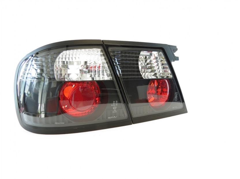Комплект тунинг стопове за Nissan Primera P11/W11 1996-1999 5 врати с черна основа , ляв и десен 2