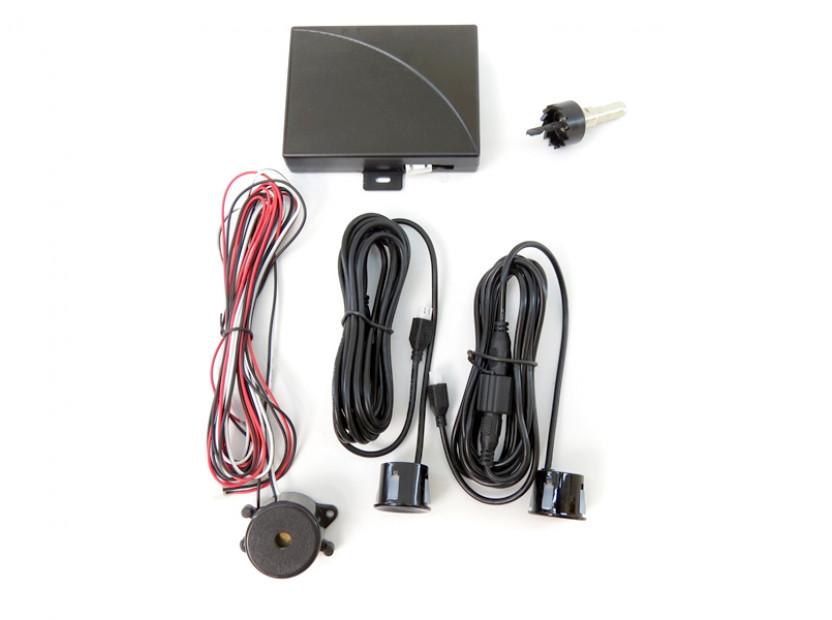 Парктроник система със звукова сигнализация RD-008 с 2 черни датчика 4
