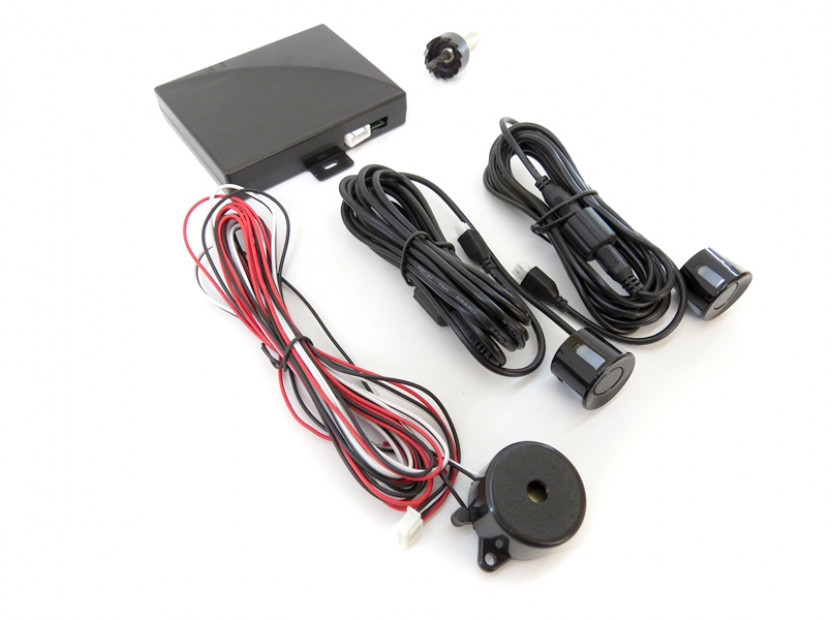 Парктроник система със звукова сигнализация RD-008 с 2 черни датчика