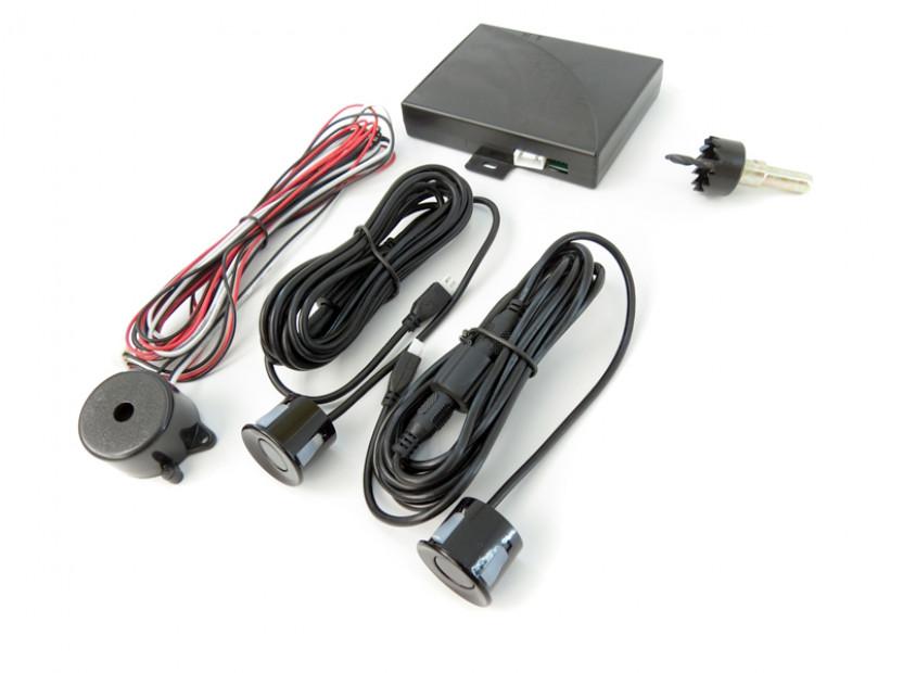 Парктроник система със звукова сигнализация RD-008 с 2 черни датчика 3