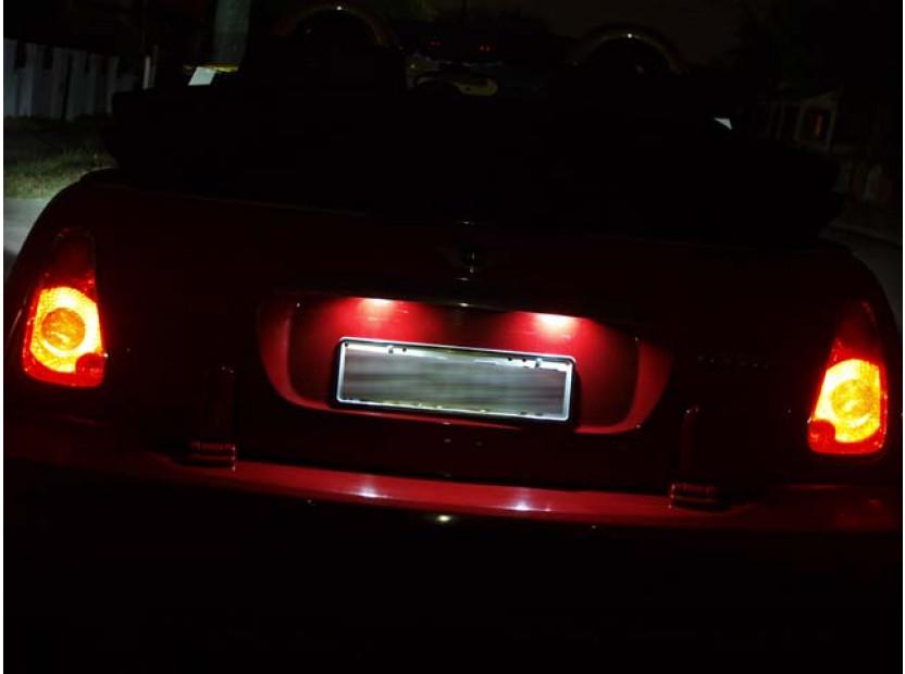 Комплект LED плафони за регистрационен номер за Mini Cooper R50,R52,R53, ляв и десен 6
