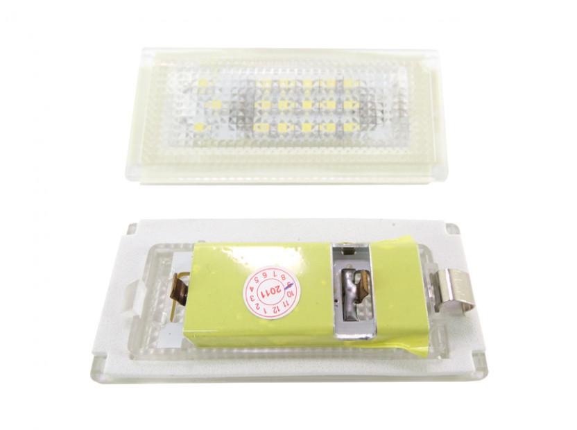 Комплект LED плафони за регистрационен номер за Mini Cooper R50,R52,R53, ляв и десен 2