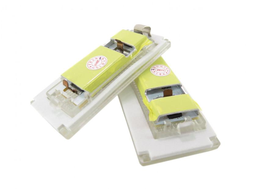 Комплект LED плафони за регистрационен номер за Mini Cooper R50,R52,R53, ляв и десен 4