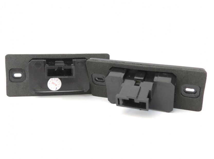Комплект LED плафони за регистрационен номер за Audi TT,TT Roadster,Volkswagen Golf V,Passat,Touareg,Tiguan,Porsche Cayenne,Cayenne S, ляв и десен 4