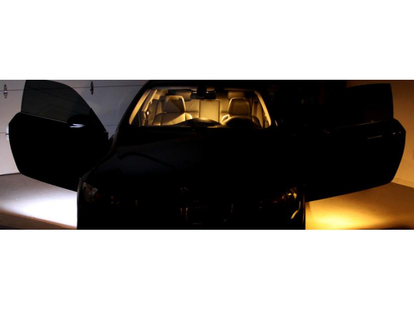 Комплект LED плафони за BMW E81,E82,E87,E88,F20,E90,E91,E92,E93,F30,E60,E61,F10,F11,E63,E64,F01,E84,E83,F25,E70,E71,E85,E86, MINI R50,R52,R53,R55,R57,R60, ляв и десен 12