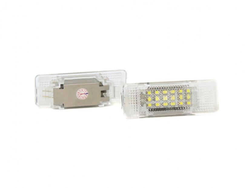 Комплект LED плафони за осветление под вратите за BMW серия 5 E39 1995-2003,X5 E53 1999-2006,Z8 E52 2000-2003, ляв и десен 2