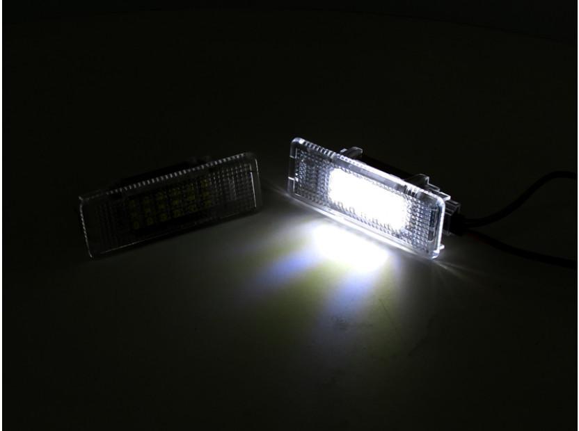 Комплект LED плафони за осветление под вратите за BMW серия 5 E39 1995-2003,X5 E53 1999-2006,Z8 E52 2000-2003, ляв и десен 4