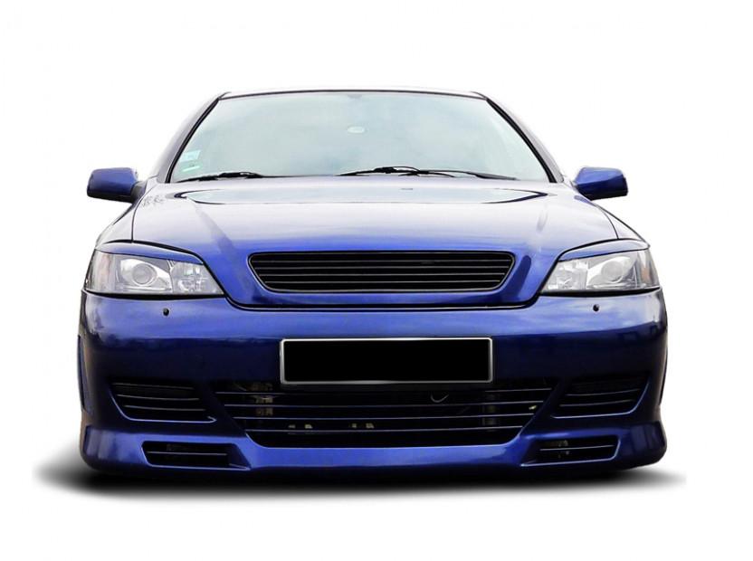 Черна решетка без емблема за Opel Astra G 1997-2004 12