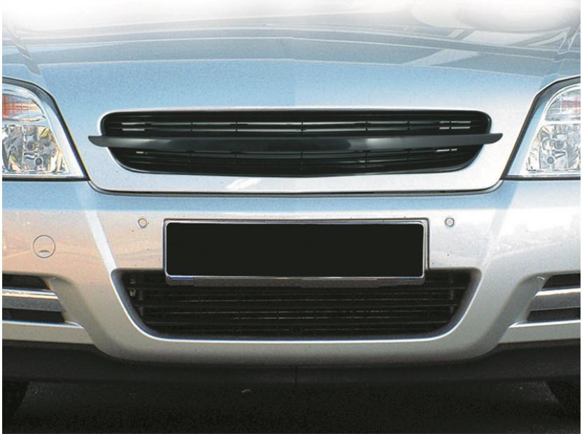 Черна решетка без емблема за Opel Vectra C 2002-2005 5